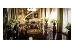 Ballroom Set on The Great Gatsby Movie by Bev Dunn