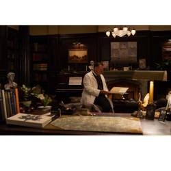Set Decoration for Doctor's Office on Great Gatsby Movie by Beverley Dunn