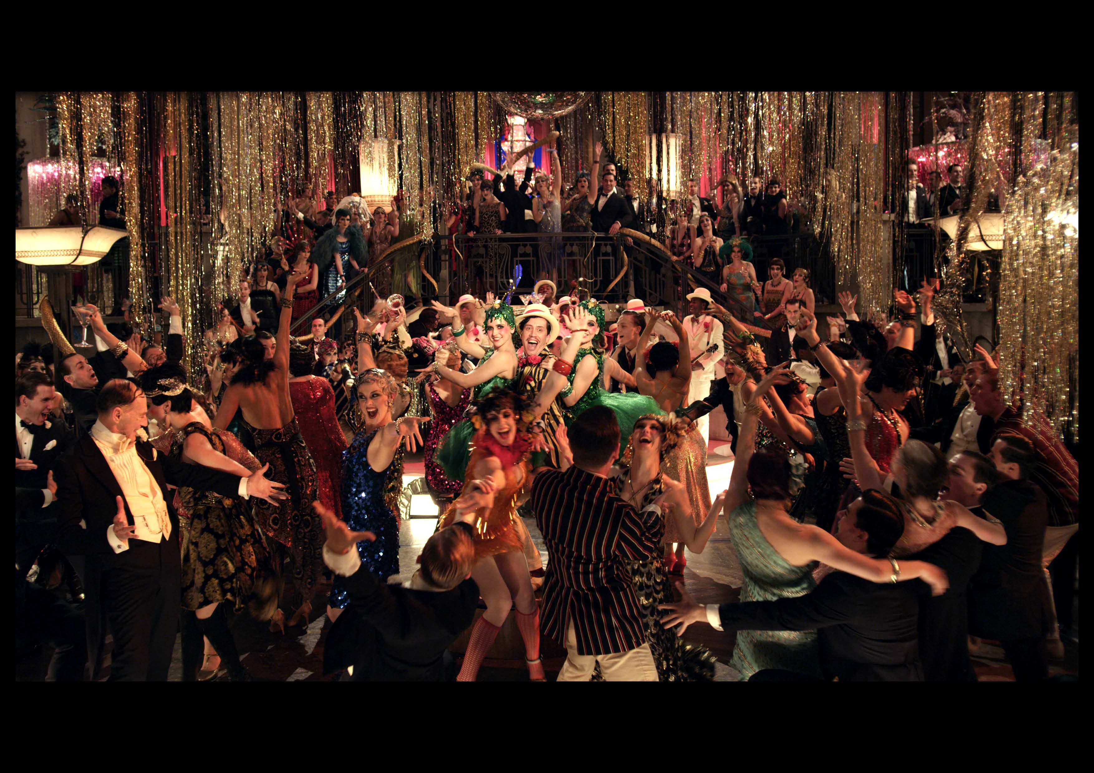 the great gatsby party scene The great gatsby was set during prohibition, but that didn't prevent liquor from flowing freely at jay gatsby's hellraising social events use our party calculator to ensure your bar stays fully stocked until your guests go home.
